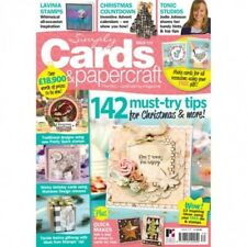 SIMPLY CARDS & PAPERCRAFT MAGAZINE ISSUE 170 + FLORAL FRIENDS STAMP & FOLDER SET