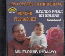 Poncho Villagomez Regalo Para Mi Madre CD Sealed