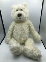 Large Gund Winnedo White Teddy Bear Plush Kids Soft Stuffed Toy Animal Doll