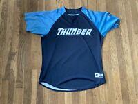 Wendell Rijo Game Used Trenton Thunder Blue Alternate Jersey Yankees