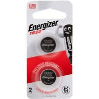 Genuine Energizer CR1632 3V 2pk Lithium Coin Batteries **( Made in JAPAN )**