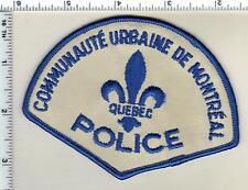 Communaute Urbaine de Montreal Police (Canada) Shoulder Patch from Early 1980's