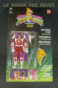 BANDAI. POWER RANGERS.  ROCKY.  1993.