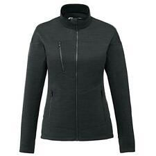 Womens Fleece Zip Jacket Running Fitness Gym Top Knitted Fleece Jacket