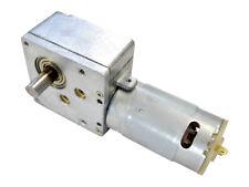 6 V 12 V dc engranaje helicoidal alto esfuerzo de torsión motor eléctrico 98:1 fuerte potente derecha