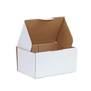 100x Mailing Box 150 x 100 x 75mm White Diecut Shipping Carton