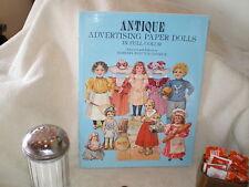 """Antique Advertizing Paper Dolls"", B.W. Jandrick, Dover Pub 1981"