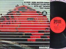 Al Haig Jamil Nasser Combo ORIG UK LP Expressly Ellington NM '79 Jazz Bop