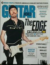 Guitar World Oct 2016 The Edge U2 Coolest Guitar Stores Warrant FREE SHIPPING sb