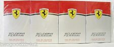 FERRARI SCUDERIA LOT OF LOT OF '10'+POUCH NEW YEAR KICKOFF