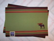 Moose Placemats Kay Dee Moose Embroidery Pattern