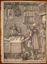 stampa antica old print Praxis Rerum Civilium Damhouder avvocato 1569 lawyer