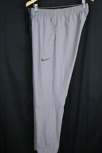 Nike Mens Sz Medium Gray Dri-Fit Flex Training Pants
