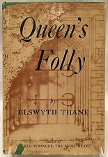 *RARE* Queen's Folly by Elswyth Thane (2nd Lg. Printing) Duell, Slone & Pierce