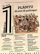 LE 1 UN**n°193**14/03/2018*PLANTU 50 ANS DESSEINS DE PRESSE POLITIQUE*CARICATURE