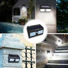 80LED Solar Power PIR Motion Sensor Wall Light Outdoor Waterproof Garden Lamp
