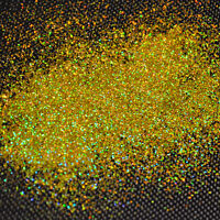 50g XL Metal Flakes Sun Gold Holo Auto Glitter Glimmer Car Effektlack 0,6 mm