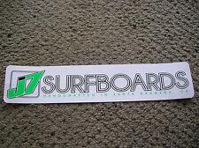 j 7  surfboard sticker surfing longboard large santa barbara california surf