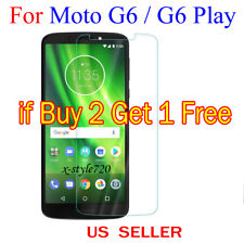 1x Clear LCD Screen Protector Guard Cover Shield For Motorola Moto G6 / G6 Play