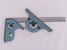 """Combination Square & Protractor  w/ 12"""" / 300mm Rule    *** American Made ***"""