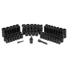 Grey Pneumatic 81 Pc. 3/8In Drive 6 Point Standard And Deep Master Socket Set