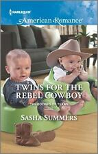 Twins for the Rebel Cowboy (The Boones of Texas)-ExLibrary