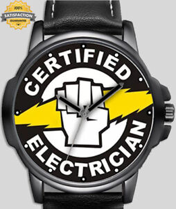 Certified Electrician Professional  Unique Unisex Beautiful Wrist Watch UK FAST