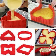 4Pcs Silicone Cake Mold Magic Bake Snakes Mould Baking Silikon Kuchenform DIY