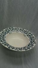 Rare antique art and craft Wedgwood Merlin pattern large bowl 17 6/8 inches