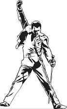Sticker Freddie Mercury - 57x93 cm