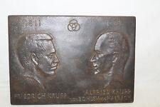 1811-1961 Jubiläum 150 Jahre Friedrich&Alfried Krupp Kunstguss Bild Metall
