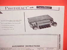 1967 OLDSMOBILE 98 88 PONTIAC GRAND PRIX CONVERTIBLE AM RADIO SERVICE MANUAL 67