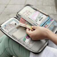 Case Purse Polyester Organizer Credit Card Wallet Travel Package Bag Passport