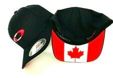 NEW OAKLEY TINCAN FLAG CANADA BLACK MEN'S HAT CAP FOS900115 Size S/M,L/XL