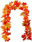 Autumn Garland Mixed Leaf 6ft Maple Leaves Hanging Vine Plant Fall Home Decor