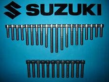 Suzuki DR600 85-89 Stainless SS Engine Cover Allen Screw Bolt Kit UK FREEPOST