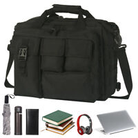 "17.3"" Mens Shoulder Bag Tactical Briefcase Computer Laptop PC Messenger Bags"