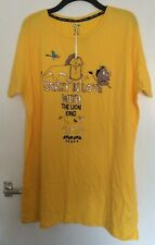 PRIMARK LADIES DISNEY THE LION KING TEE NIGHT WEAR TOP 2XL 22-24 BNWT T-SHIRT