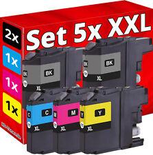 5x XL TINTE für BROTHER MFC-J480DW J880DW J4420DW J4620DW J4625DW J5320DW