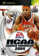 NCAA March Madness 2004 - Original Xbox College Basketball video game DISC