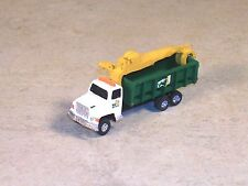 N Scale Dumpster Truck with loading crane.