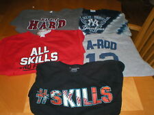 Boys shirts baseball lot of 5 shirts sz large