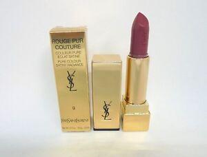Yves saint laurent rouge pur couture pure satiny radiance ~ 9 ~ 0.13 oz BNIB