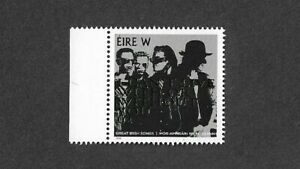 U2 Official Postage stamp Irish post office 2019 mnh-Music-