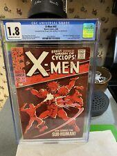 X-Men 41  CGC 1.8..1st App & Origin of Grotesk...Now Strikes The..SUB_HUMAN!.