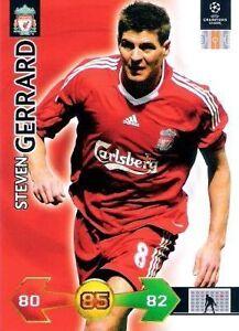 Adrenalyn XL - Super Strikes 2009/2010 - FC Liverpool Spieler aussuchen
