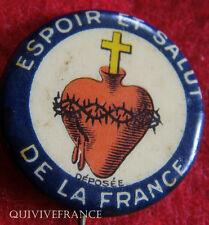 BG4380 - INSIGNE ESPOIR ET SALUT DE LA FRANCE