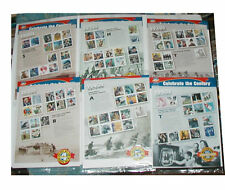 3182-3191 Celebrate the Century Sheets + 10 DC Comic Books + Album for Sheets