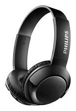 Philips Extra Bass Bluetooth Headphone Black (SHB3075BK) by Philips