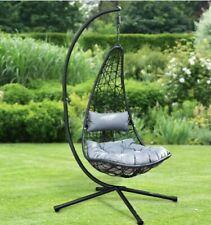 New York Hanging Egg Chair with Cushion. BRAND NEW & BOXED - FREE P&P ✅add More